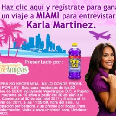 Enter the Tu Mundo Tu Voz Contest for a Trip for Two to Miami